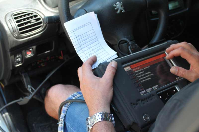 Autódiagnosztika - hibakód kiolvasás